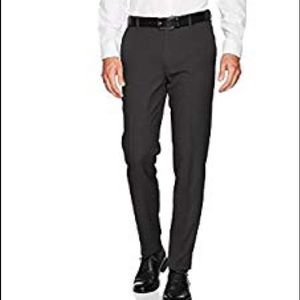 Van Heusen Traveler Slim Fit Flat Front Pants